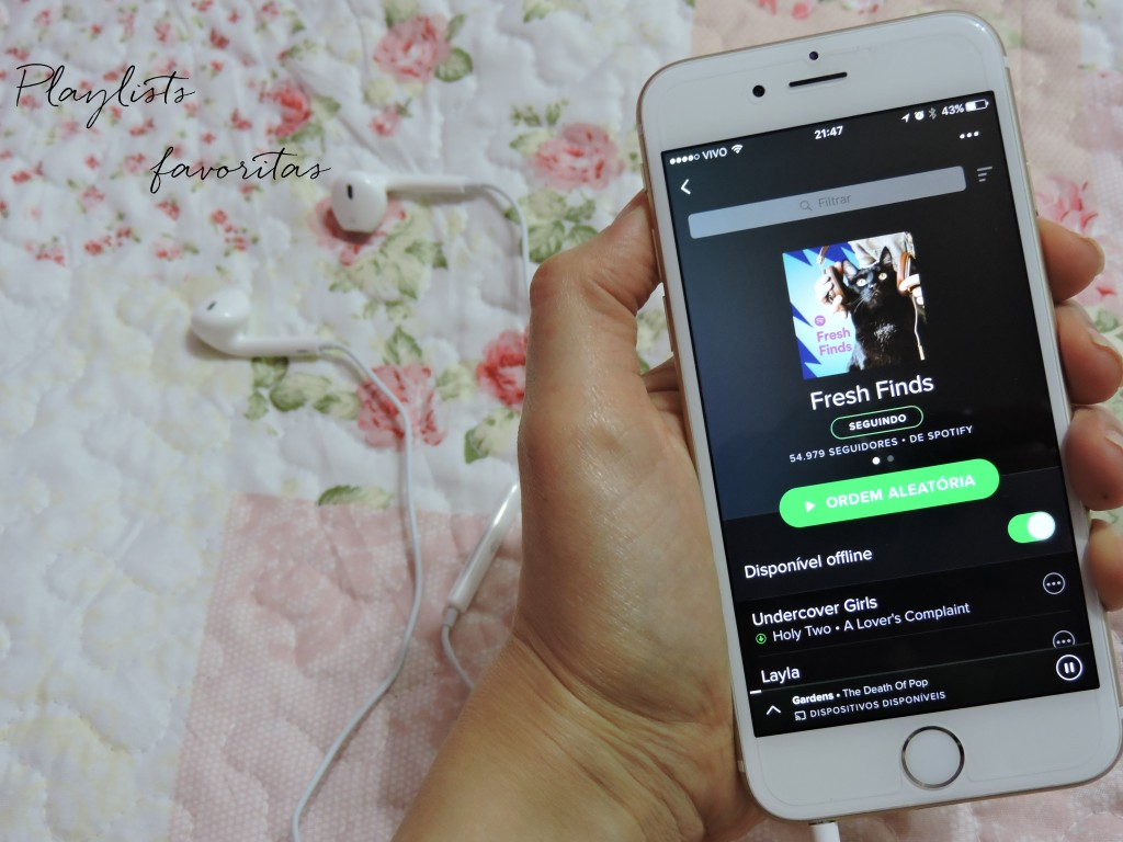 Playlists favoritas - Spotify
